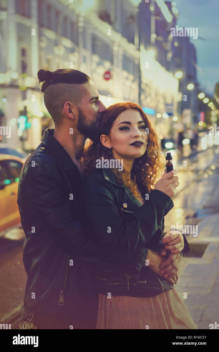 Dating ein Raucher-Freund
