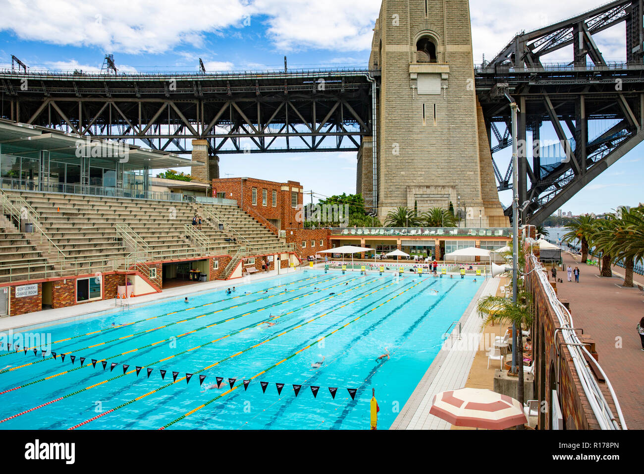 North Sydney Olympic Swimming pool in Milsons Point und die ...