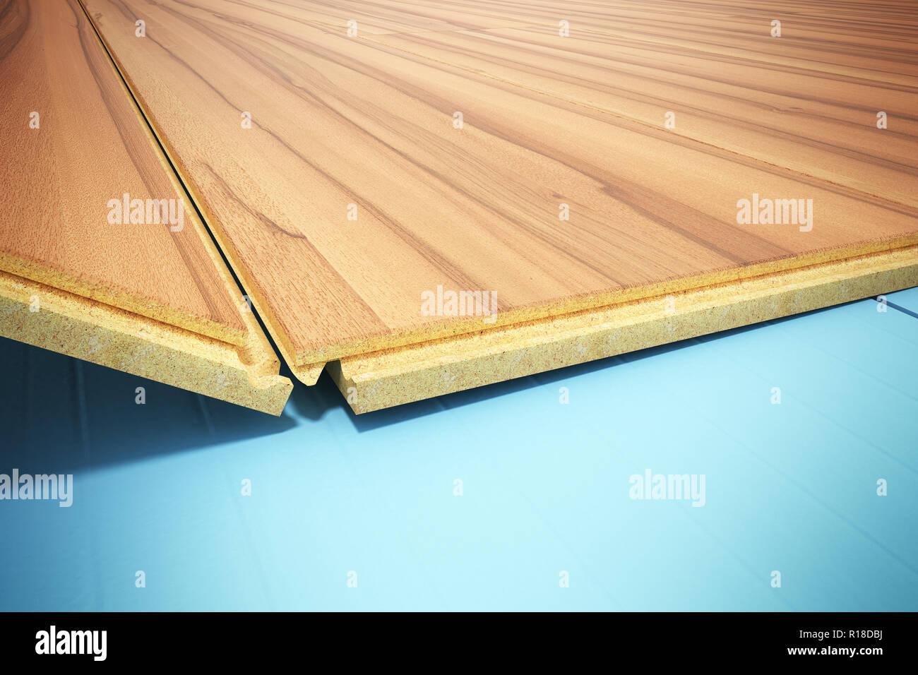 Fußboden Wärmedämmung ~ Installation holz laminat mit wärmedämmung und schallisolierung