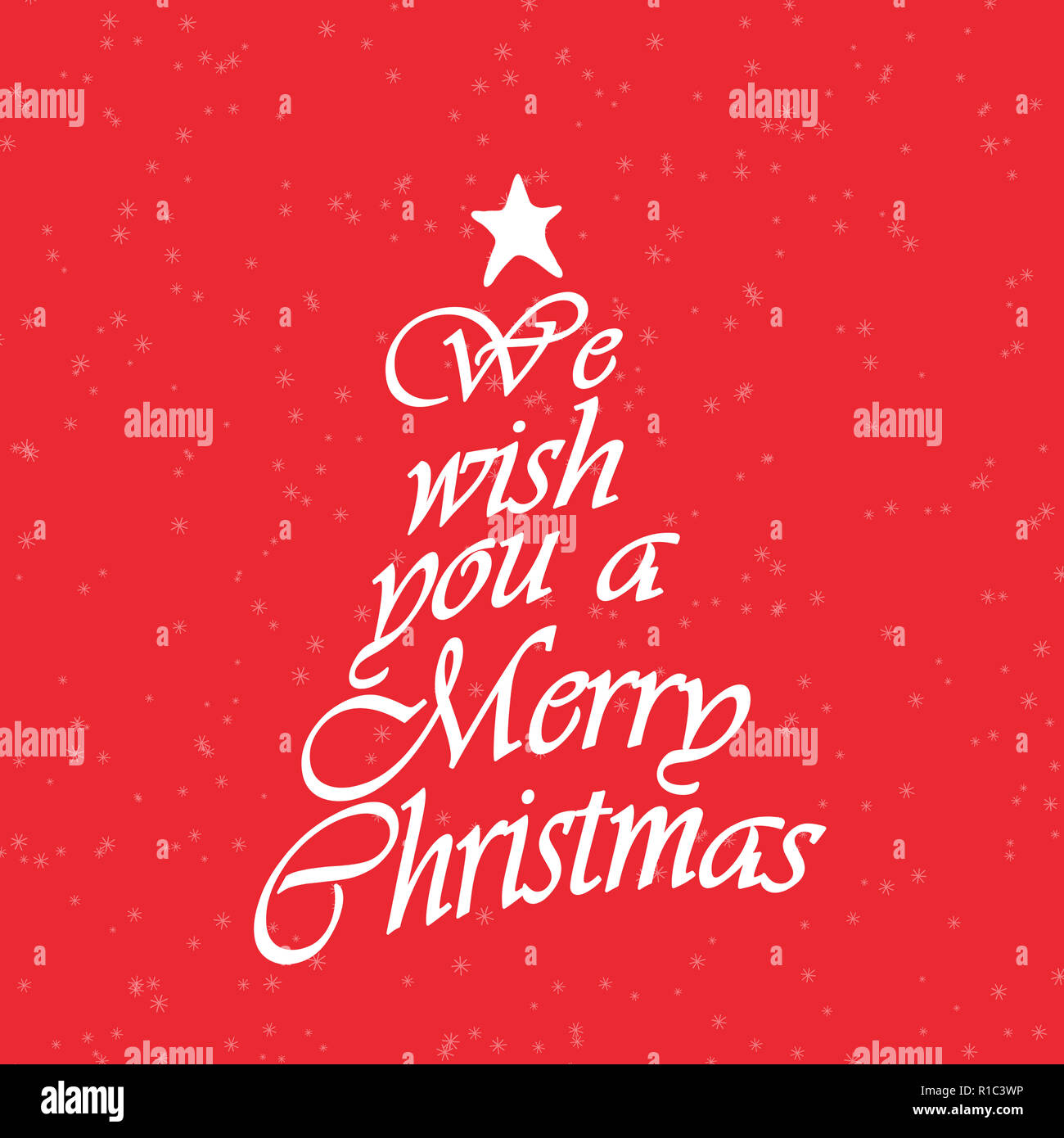 Wir wünschen Ihnen frohe Weihnachten Text. Kalligraphie text für ...