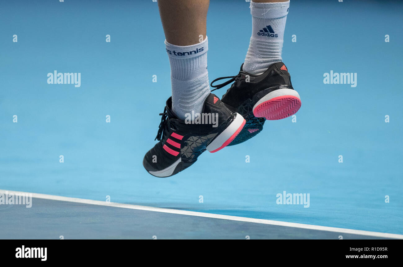 London, Großbritannien. 11. Nov 2018. Die Adidas Tennis