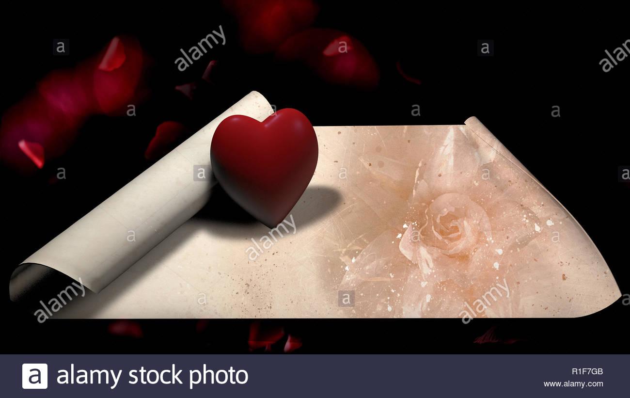 Liebesbriefe gefühle