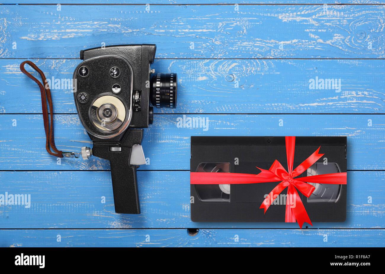 Vintage Portable Film Kamera Video Vhs Geschenk Gebunden