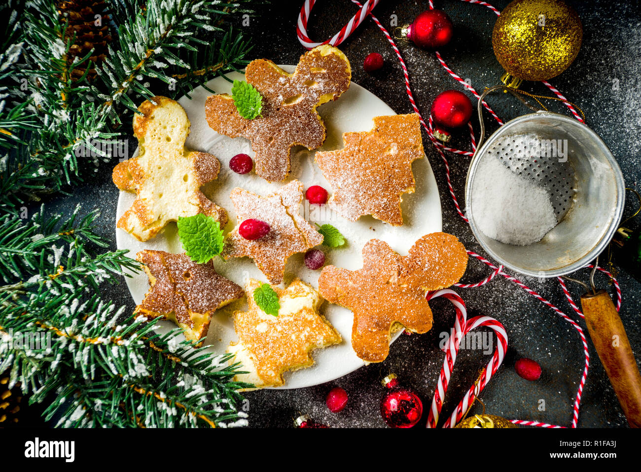 Kreative Idee Für Weihnachten Frühstück, Lustige