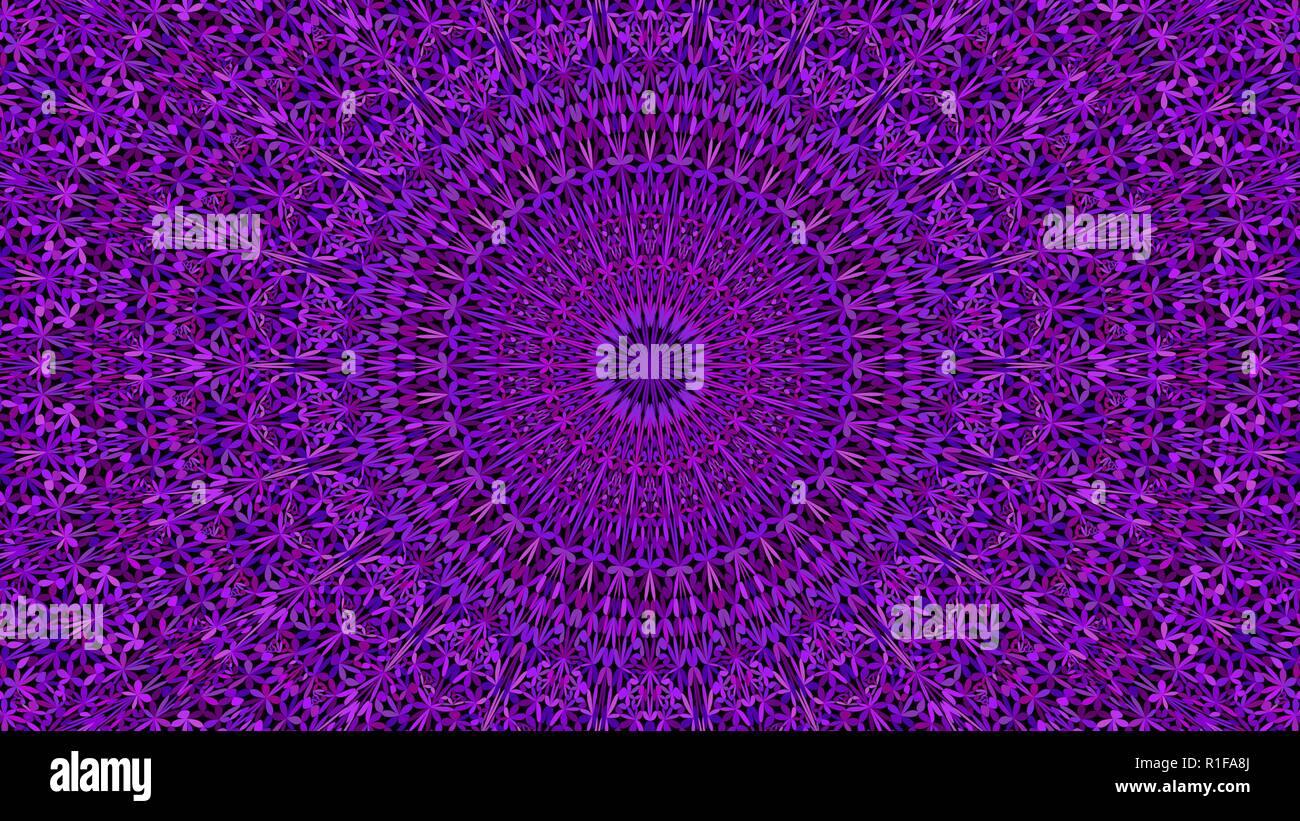 Purple Abstract Dschungel Verzierten Mandala Wallpaper