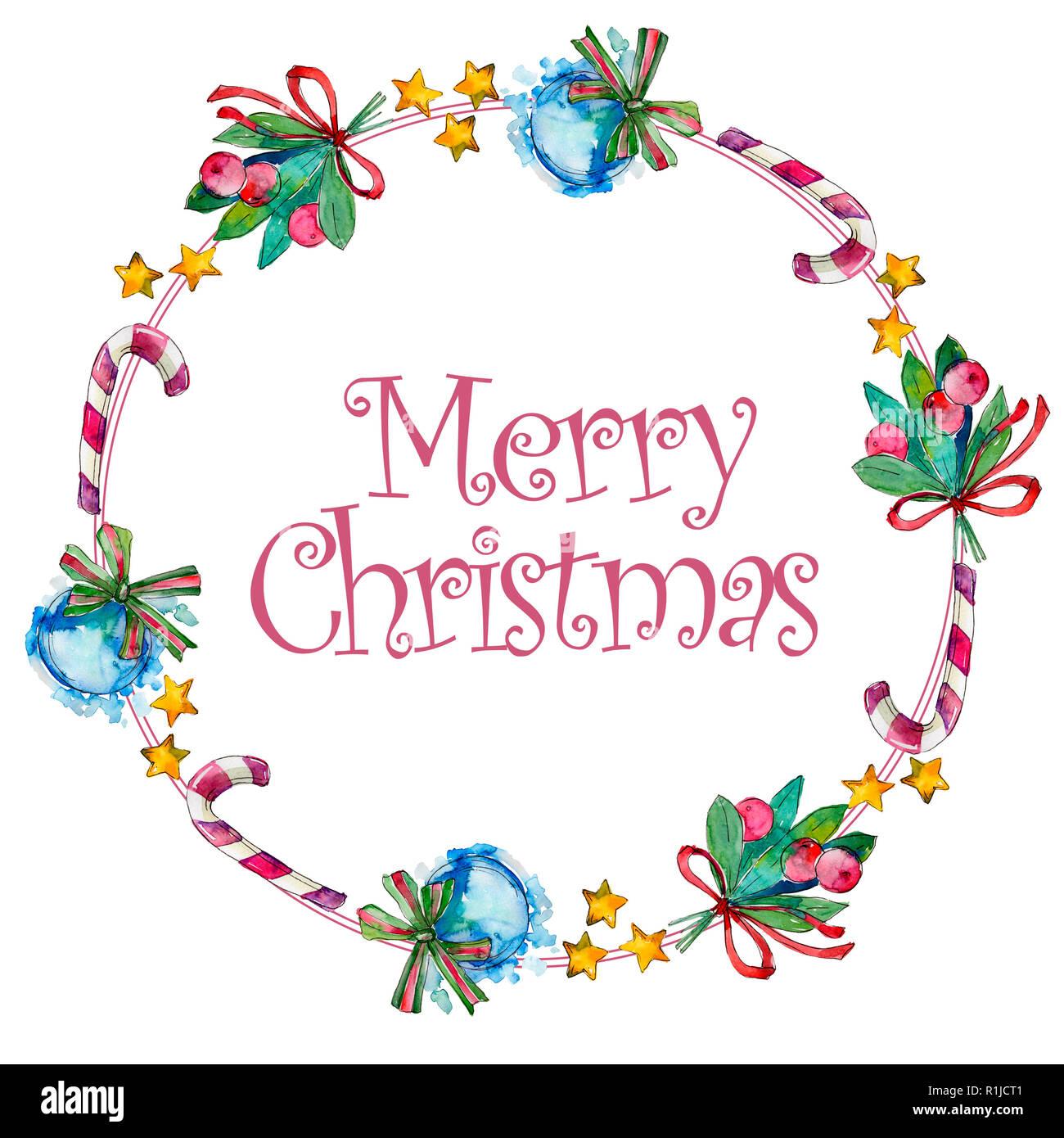 Frohe Weihnachten Hand schreiben Monogramm Kalligraphie. Weihnachten ...