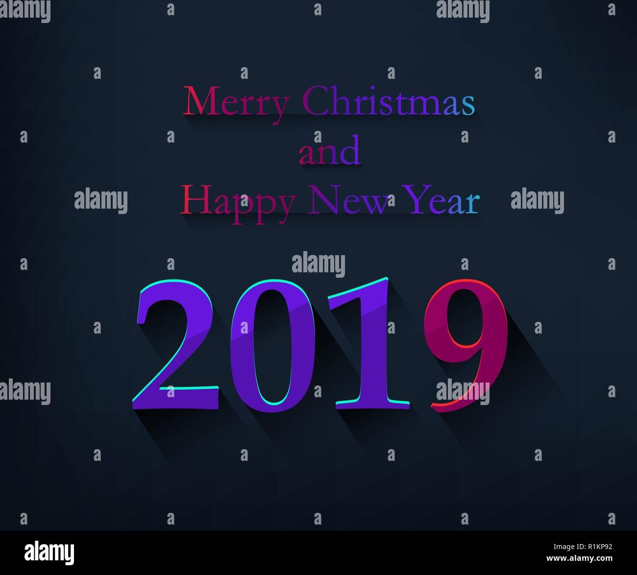 Frohe Weihnachten und guten Rutsch ins Neue Jahr Grußkarte mit ...