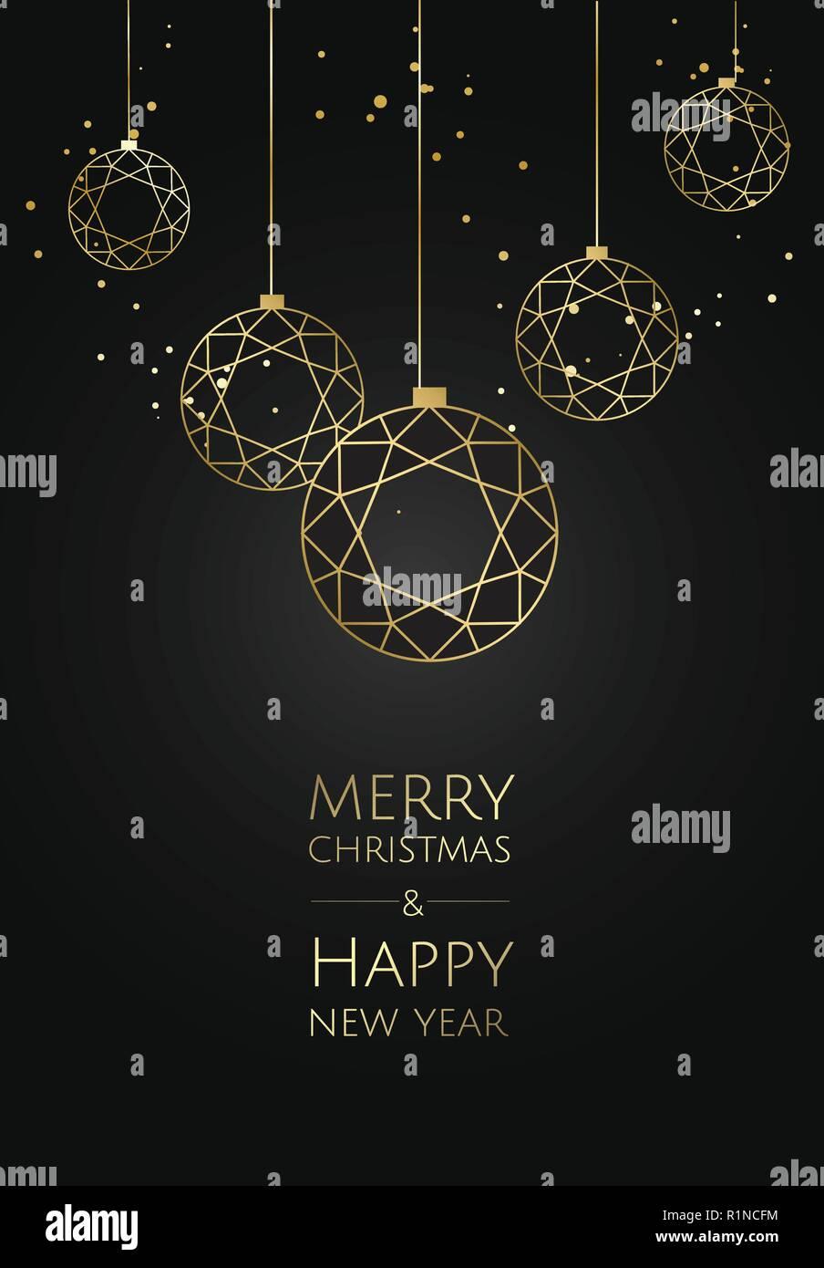 vektor moderne vorlage weihnachtskarte abstract christmas. Black Bedroom Furniture Sets. Home Design Ideas