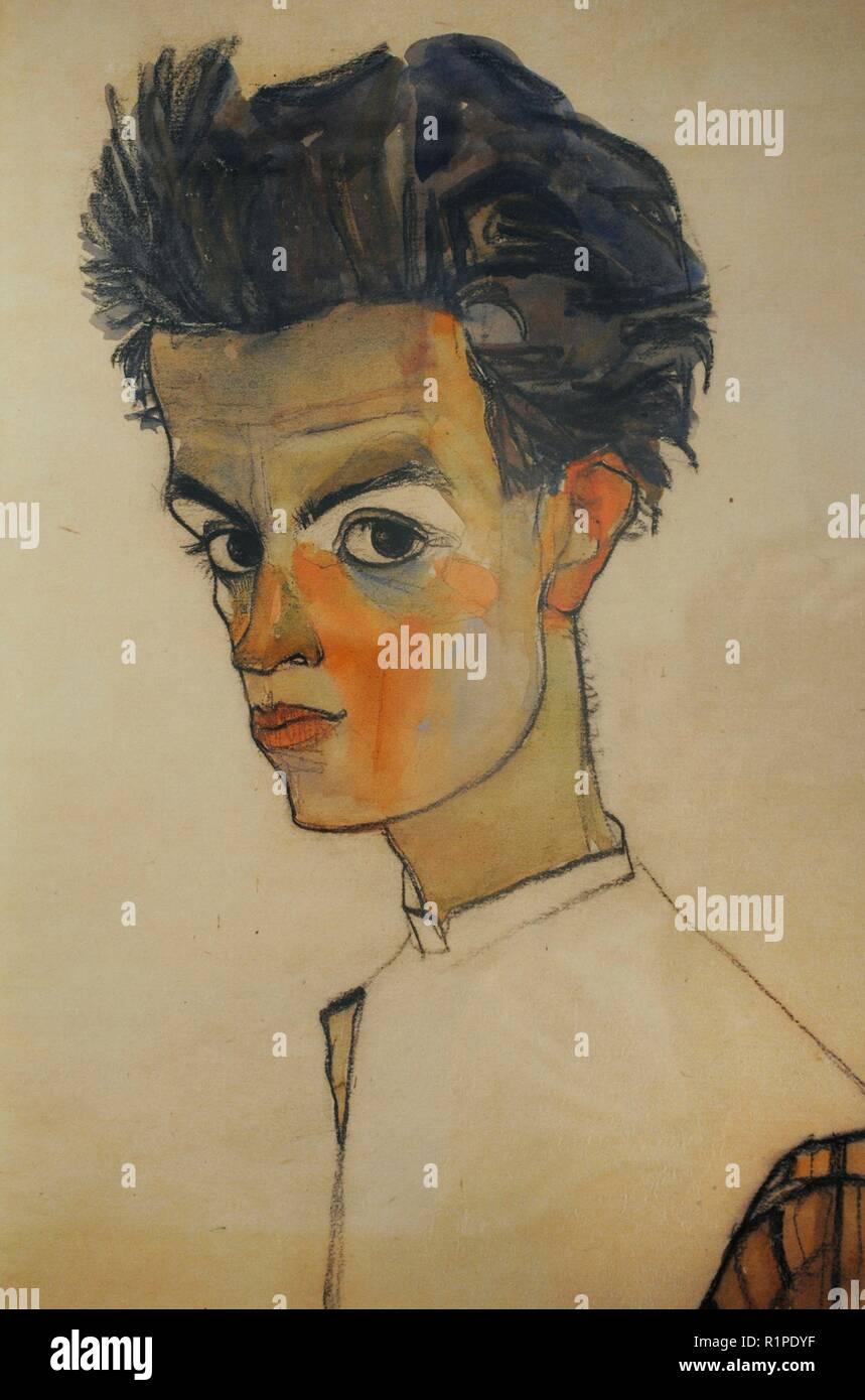 Egon Schiele (Tulln, 11-Wien, 11). Österreichischen
