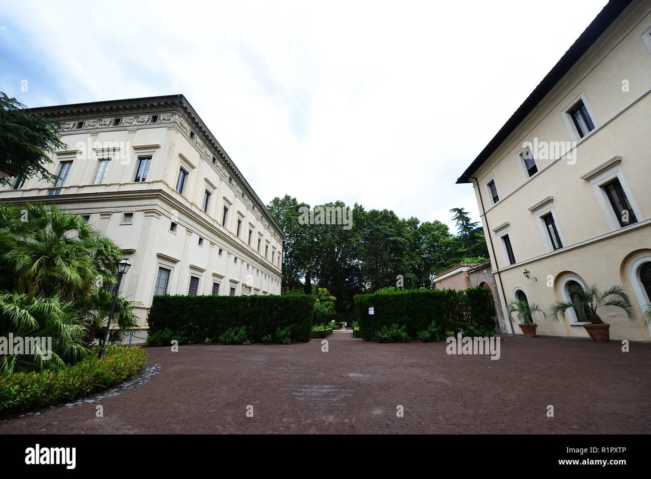 Villa Farnesina in Rom Stockfoto