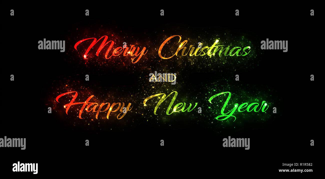 Frohe Weihnachten Glitzer.Frohe Weihnachten Und Guten Rutsch Ins Neue Jahr Goldenen