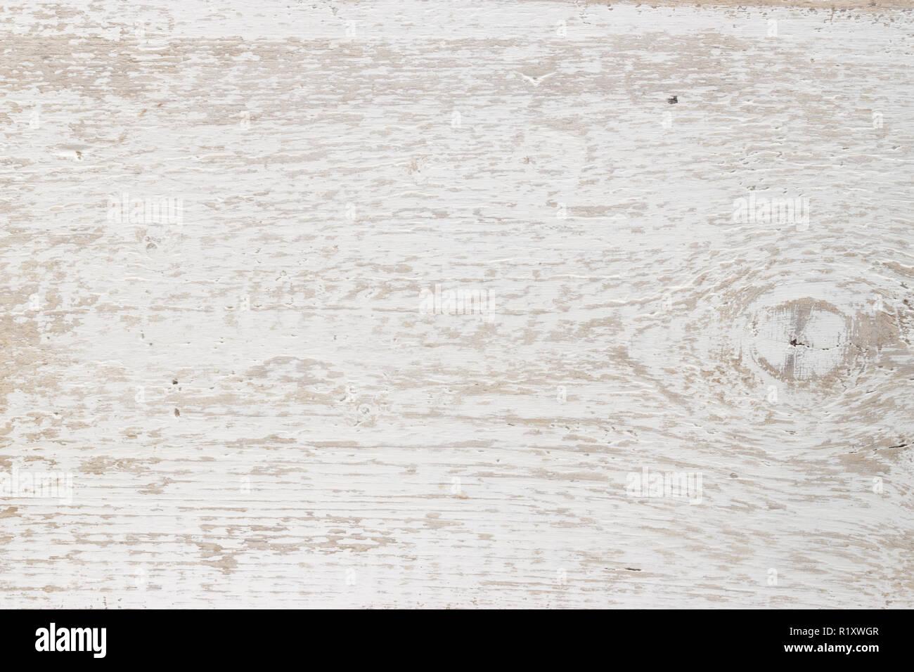 Heller Holzuntergrund im Landhausstil Stockbild