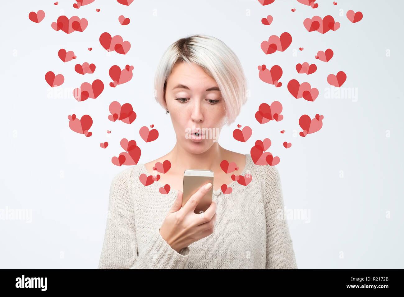 Herz aus zeichen sms