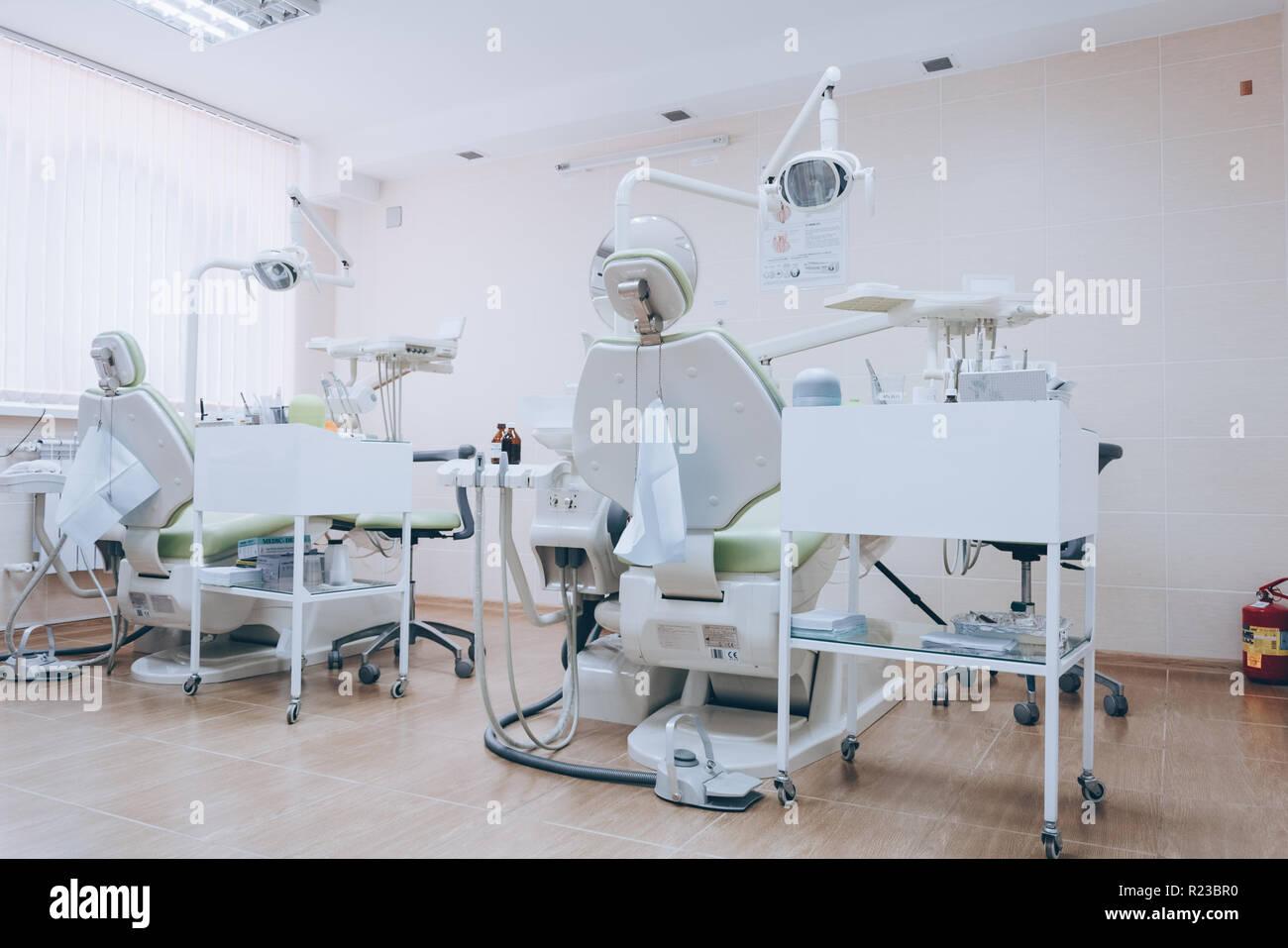Zahnmedizinischen Stomatologie Innenraum Mit Der Klinik c35jq4RLSA