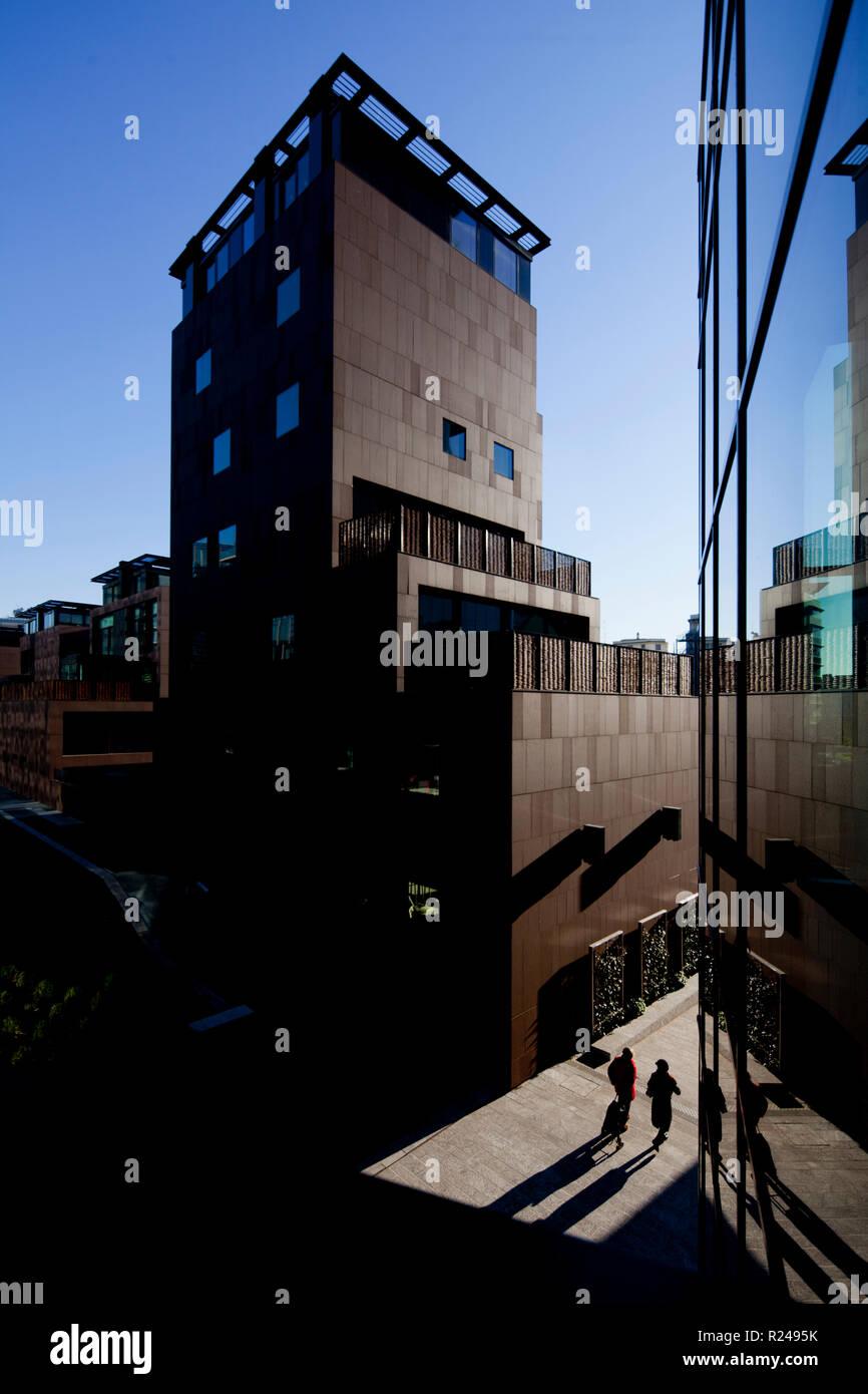 Ville Urbane, Porta Nuova Viertel, Mailand, Lombardei, Italien, Europa Stockbild