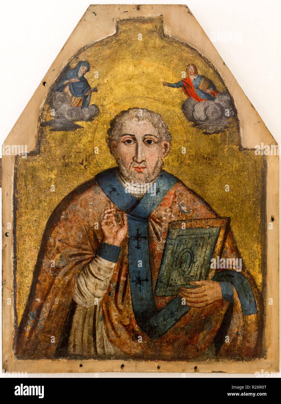 Der Heilige Nikolaus Von Myra Auch Bekannt Als Nikolaus Von Bari
