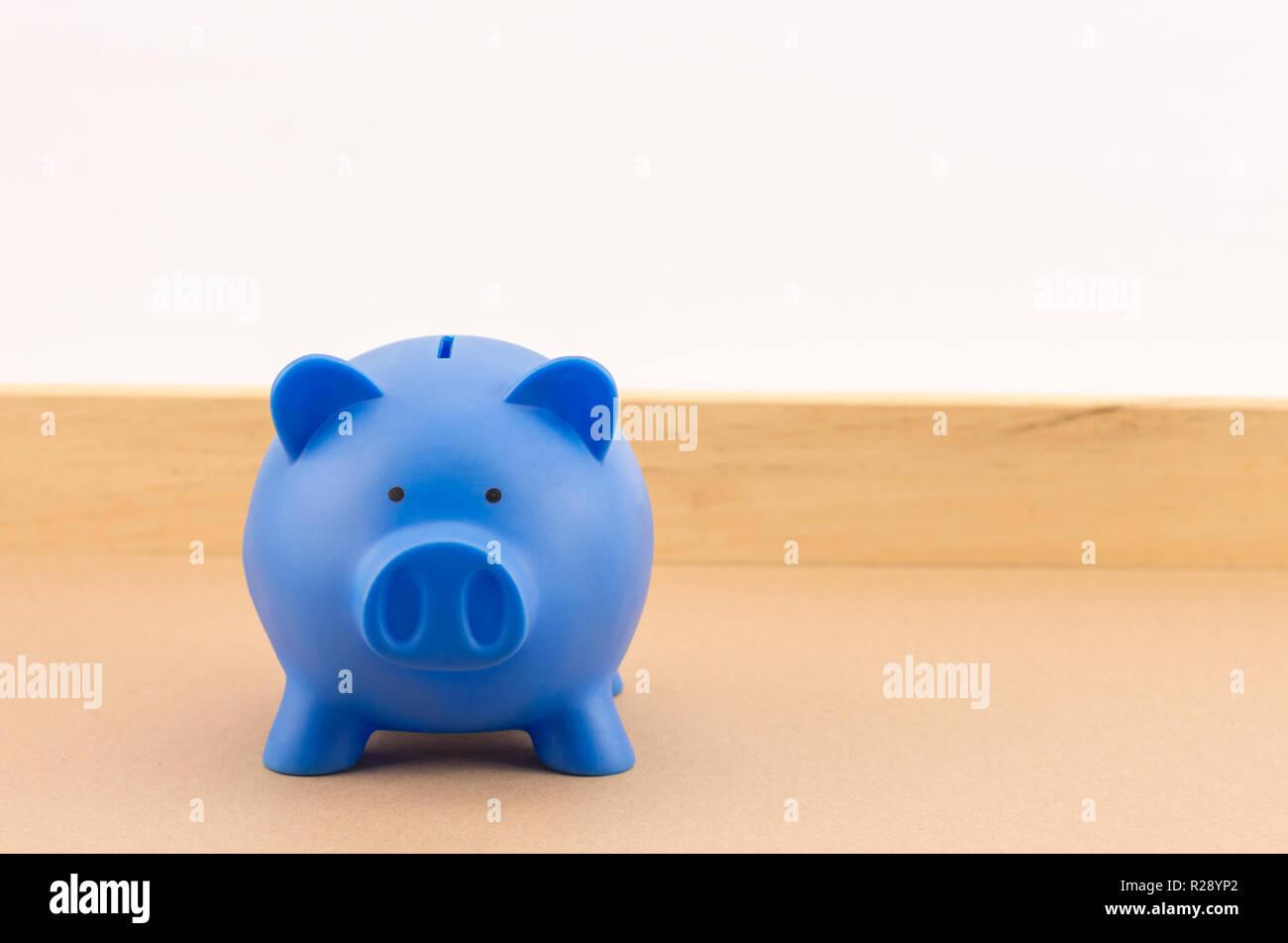 Sparschwein - Einsparungen und Financial Services Konzept Stockfoto