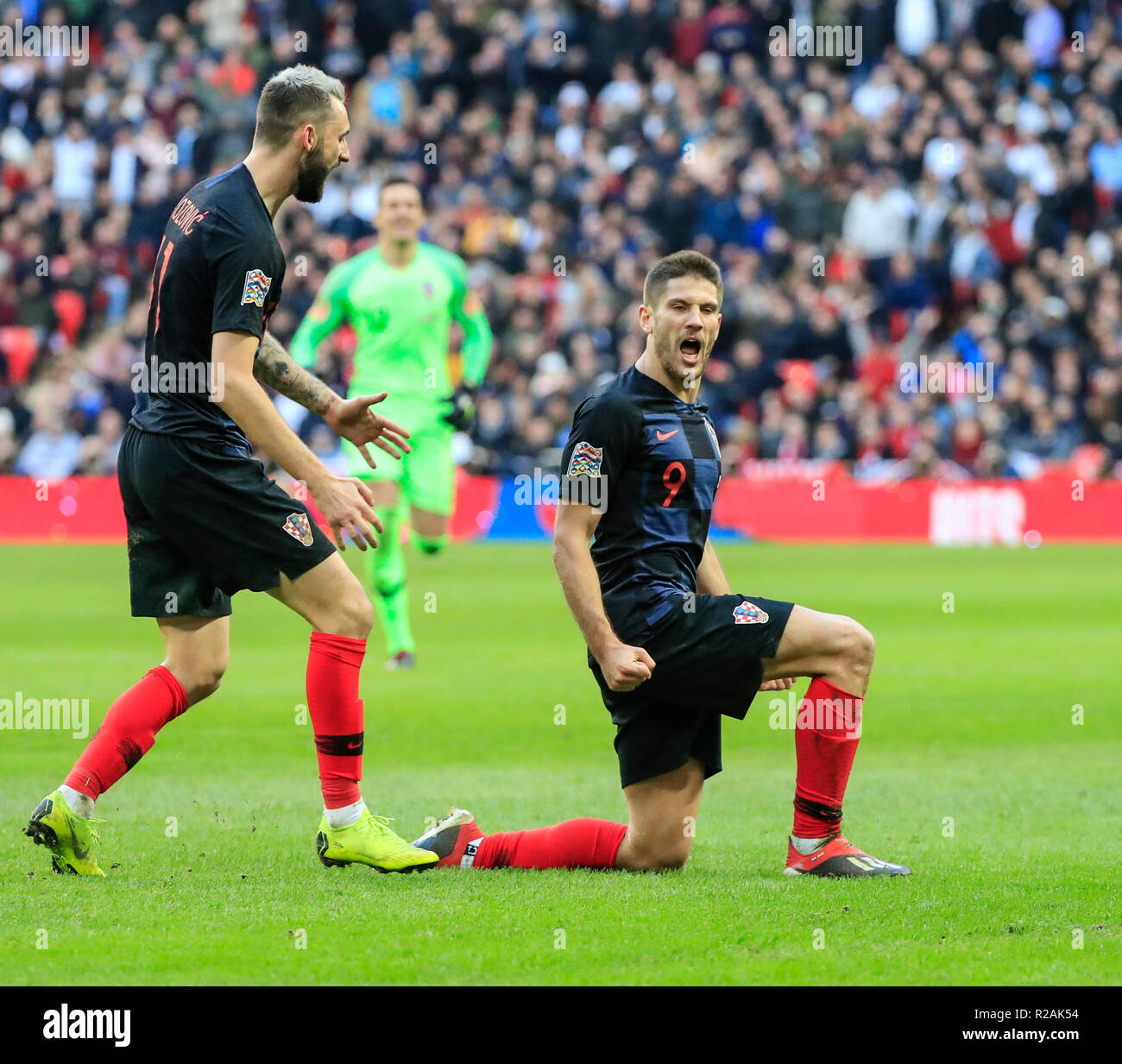 Wembley Stadion London Uk 18 Nov 2018 Uefa Nationen