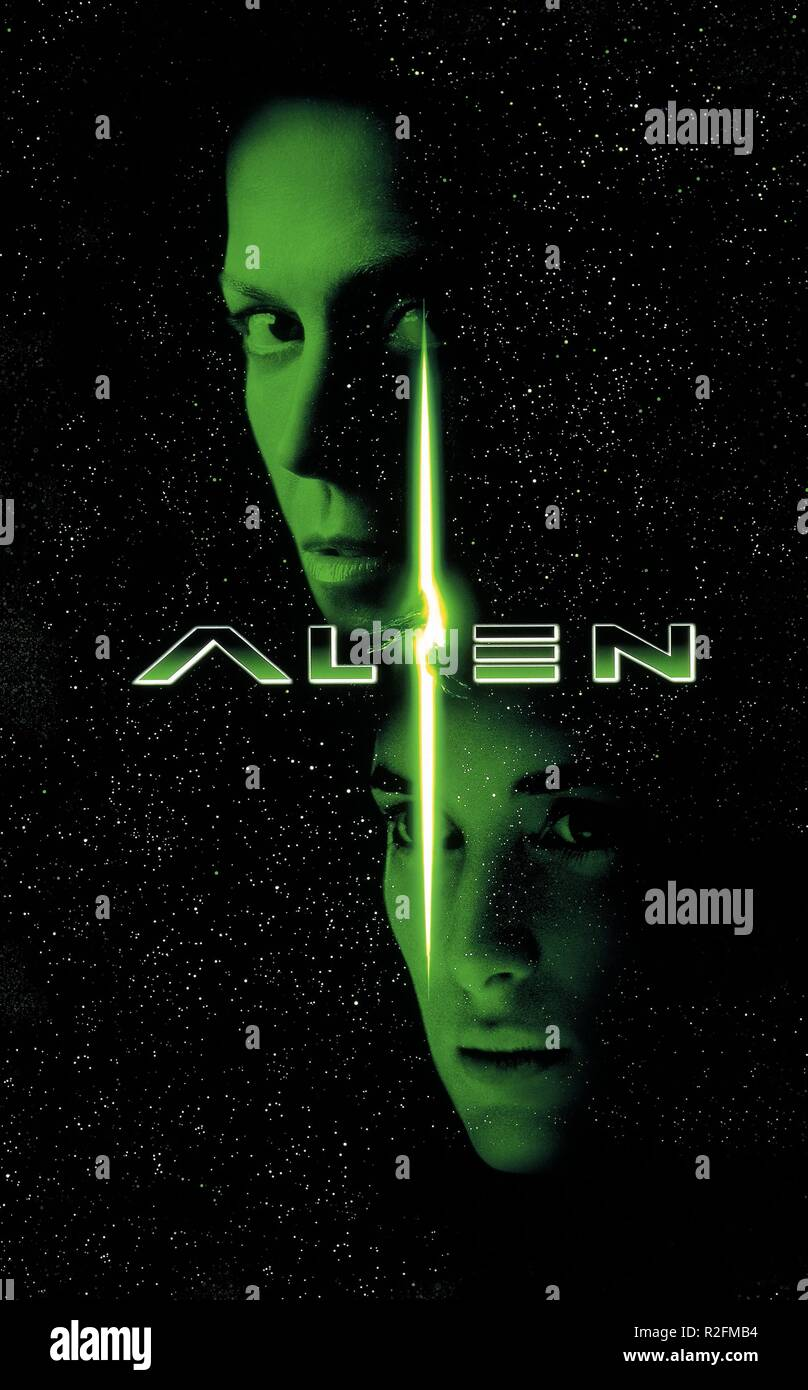 Alien Auferstehung Jahr: 1997 - USA / UK Regie: Jean-Pierre Jeunet Filmplakat Stockbild