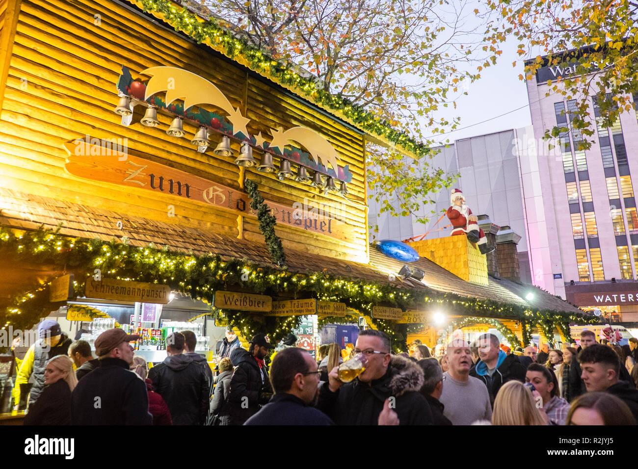 Wo Ist Der Größte Weihnachtsmarkt.Birmingham Deutsche Weihnachtsmarkt Ist Der Grösste Weihnachtsmarkt