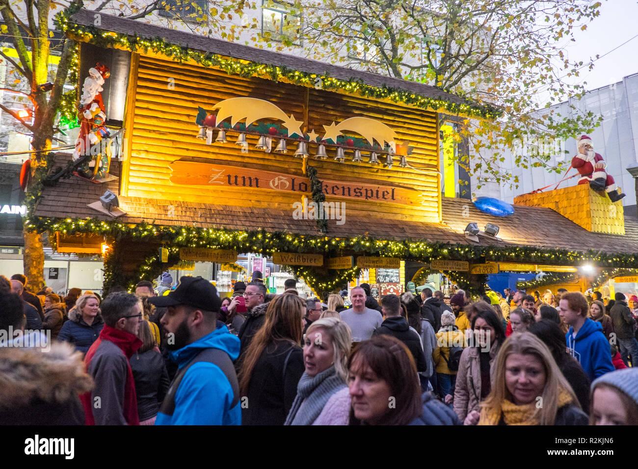 Größter Deutscher Weihnachtsmarkt.Birmingham Deutsche Weihnachtsmarkt Ist Der Grösste Weihnachtsmarkt