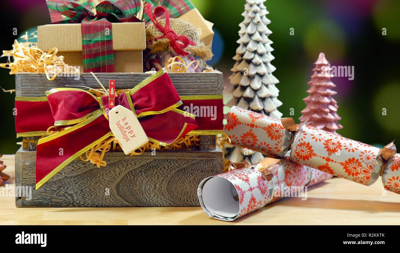 Geschenkideen Weihnachten Essen.Großen Englischen Stil Traditionelle Weihnachten Mit Papier