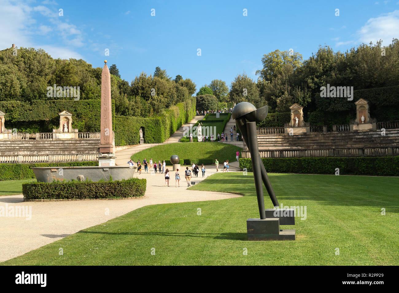 Giardini di boboli firenze stock photo more pictures of