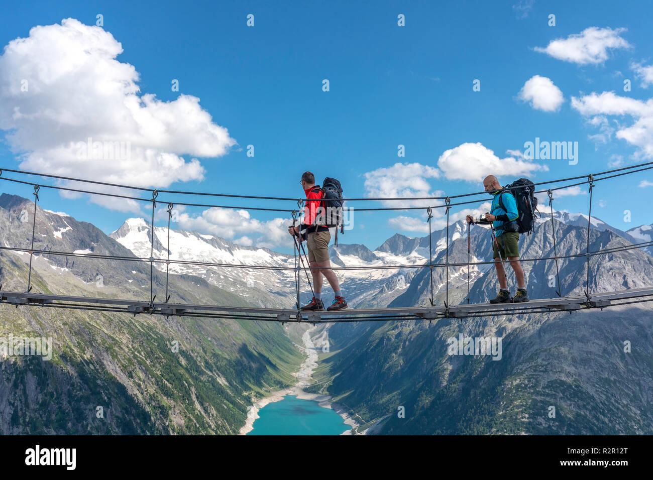 Hintergrund Zillertaler Alpen Stockfotos & Hintergrund