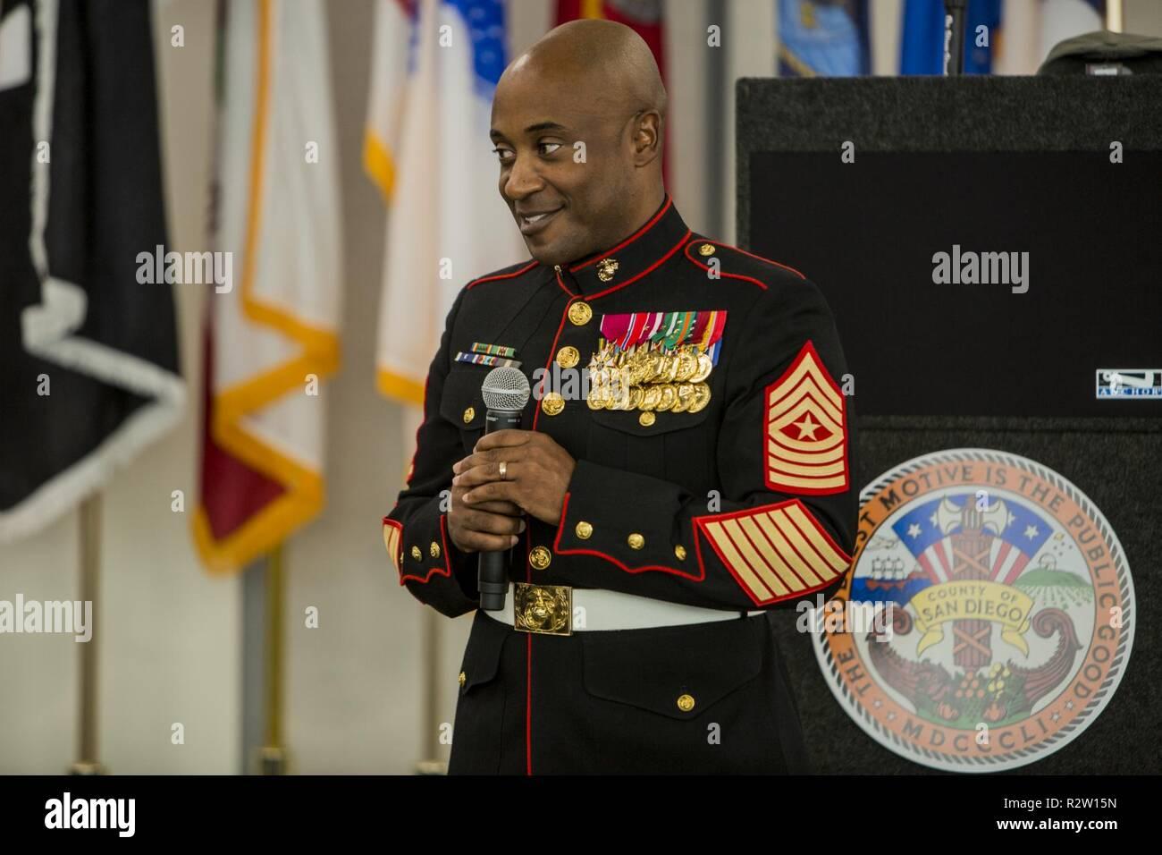 Sgt  Maj  Mario Felder, Bataillon Sergeant Major, verwundeten