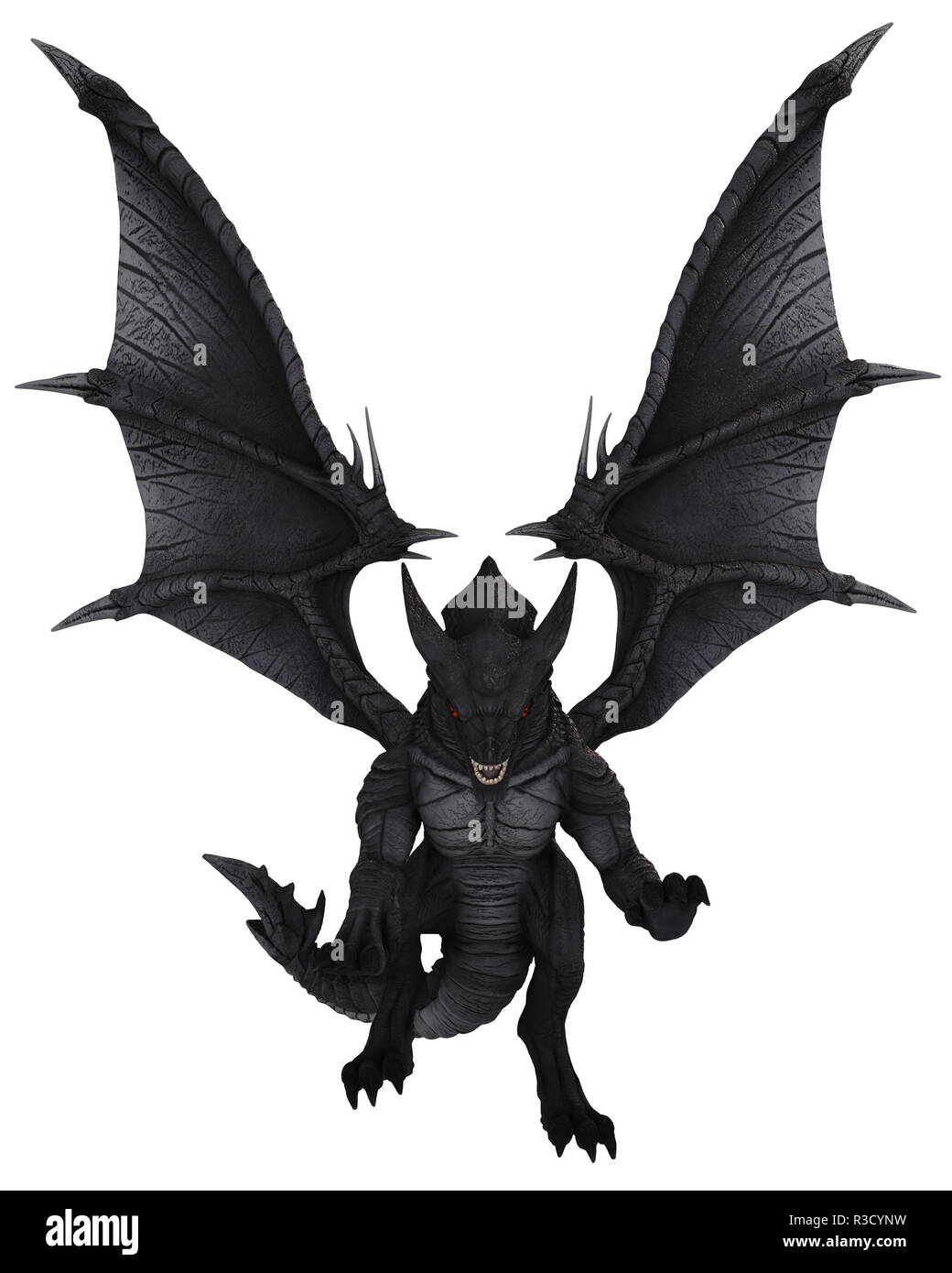 Riesiger schwarzer Monster