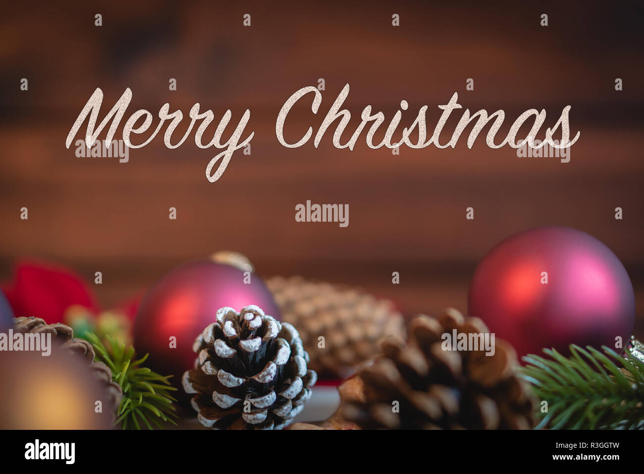 Merry Christmas Message Stockfotos & Merry Christmas Message Bilder ...