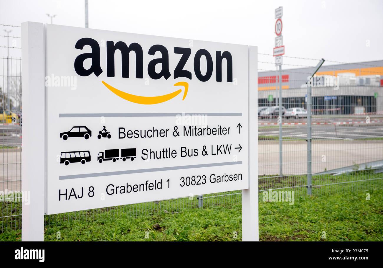 Garbsen Deutschland 23 Nov 2018 Ein Zeichen Steht Am Eingang Des