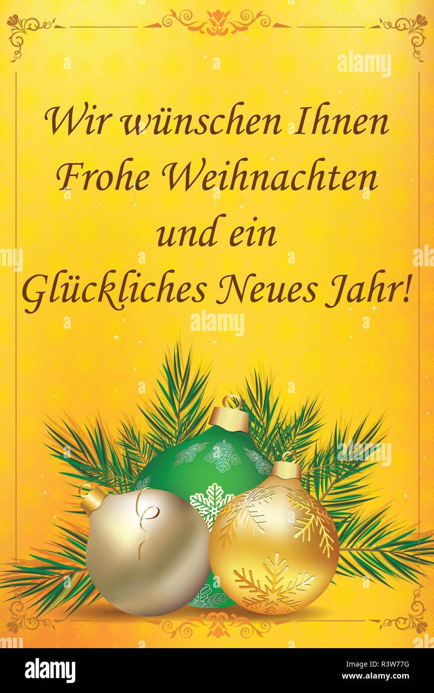 Frohe Weihnachten Und Ein Gutes Neues Jahr Holländisch.Frohes Neues Jahr Auf Deutsch Stockfotos Frohes Neues Jahr Auf