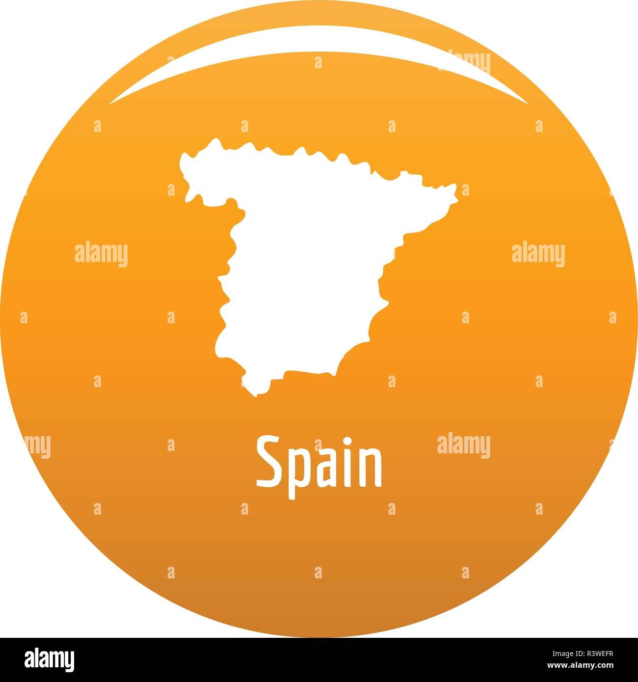 Spanien Karte Schwarz Weiß.Spanien Karte In Schwarz Einfache Abbildung Spanien Karte Vektor