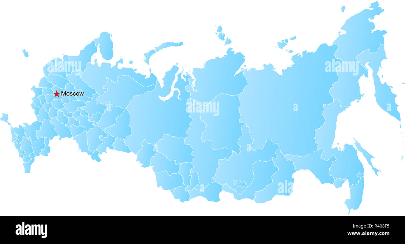 Russia Map Vector Stockfotos & Russia Map Vector Bilder - Alamy