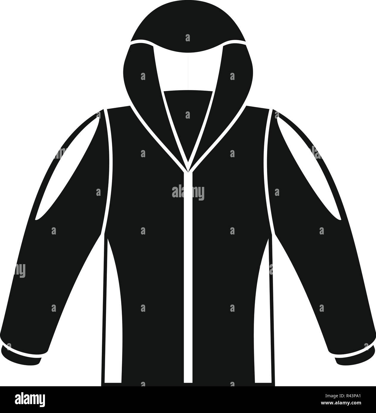 b31d5d31c686 Camp jacke Symbol. Einfache Abbildung  Camp jacke Vektor Symbol für Web  Design auf weißem