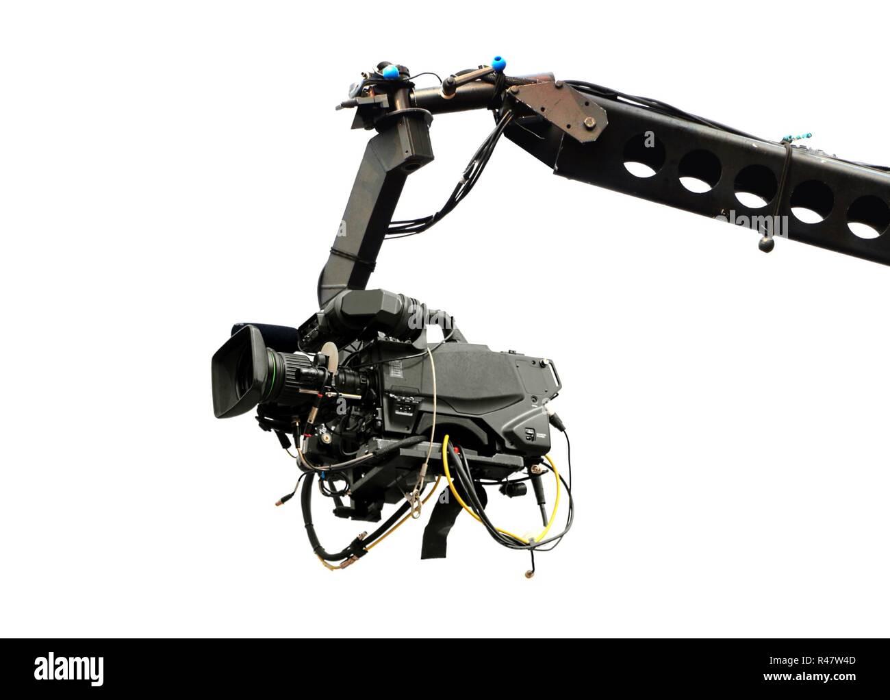 Kamera remote zu schießen, während der live-event Stockbild