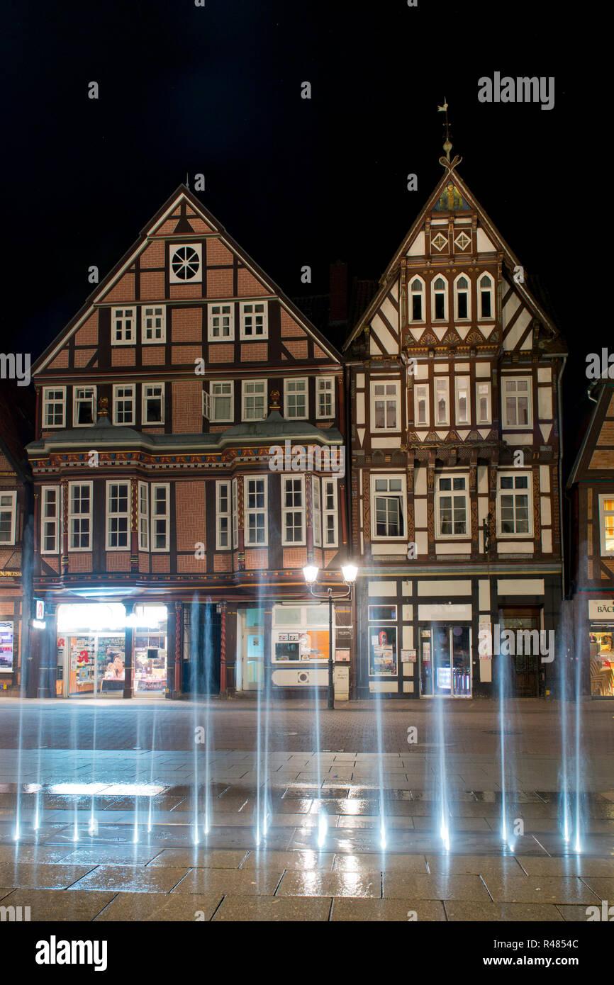Deutschland Celle Brunnen Stockfotos Deutschland Celle Brunnen