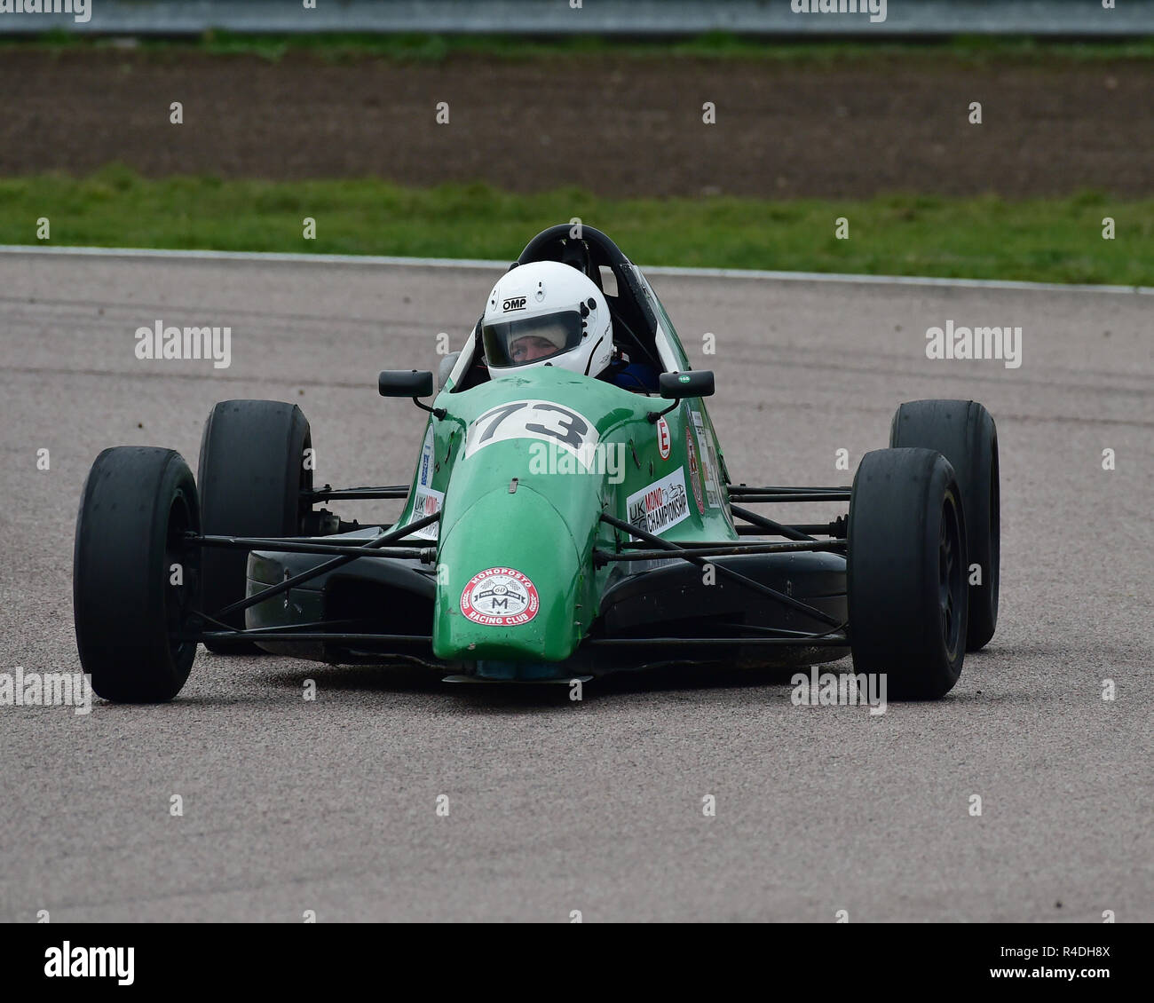 Jonathan Baggott, Van Diemen RF 95, Einzelsessel, Rockingham Super Send-Off, Rockingham Motorsport Speedway, Samstag, 25 November, 2018, Autosport Stockbild