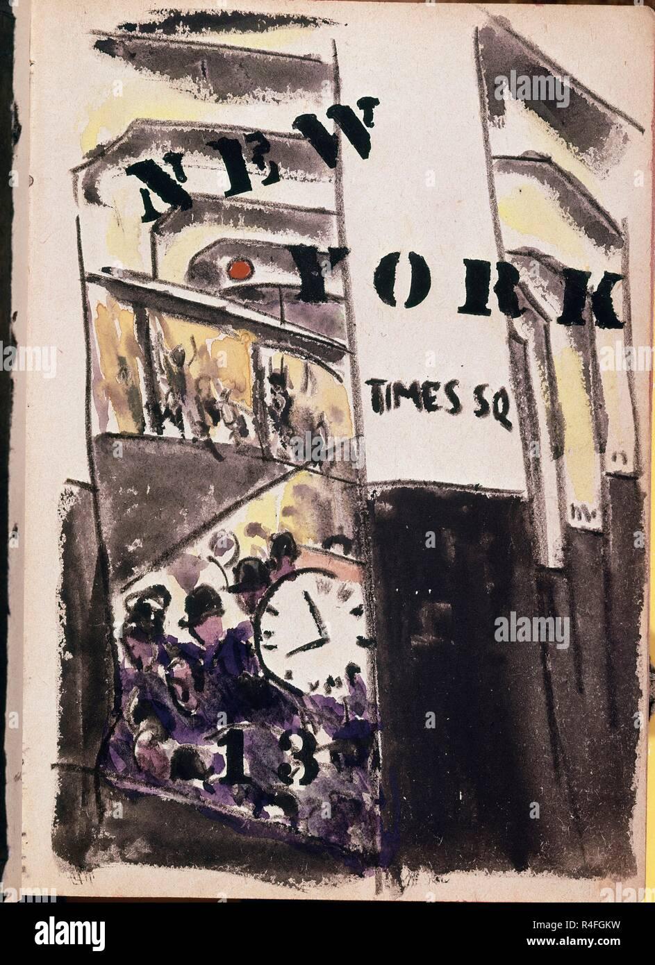 Serie De Dibujos De Nueva York Años 20 Standort Private