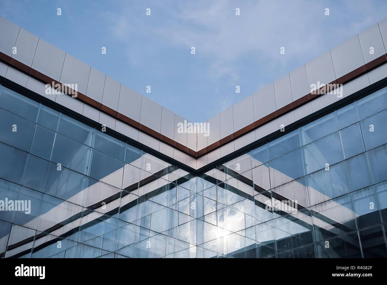 Verspiegeltes Glas Gebäude Stockfoto, Bild: 226550983 - Alamy