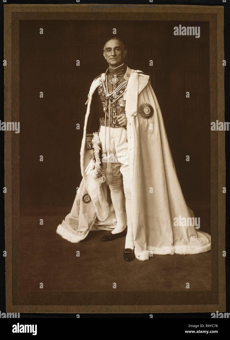 portrait von herrn lesung im viceregal roben rufus isaacs, 1 lesen  rufus isaacs, 1 lesen, gcb, gcsi, gcie, gcvo, pc, kc (1860 � \u20ac \