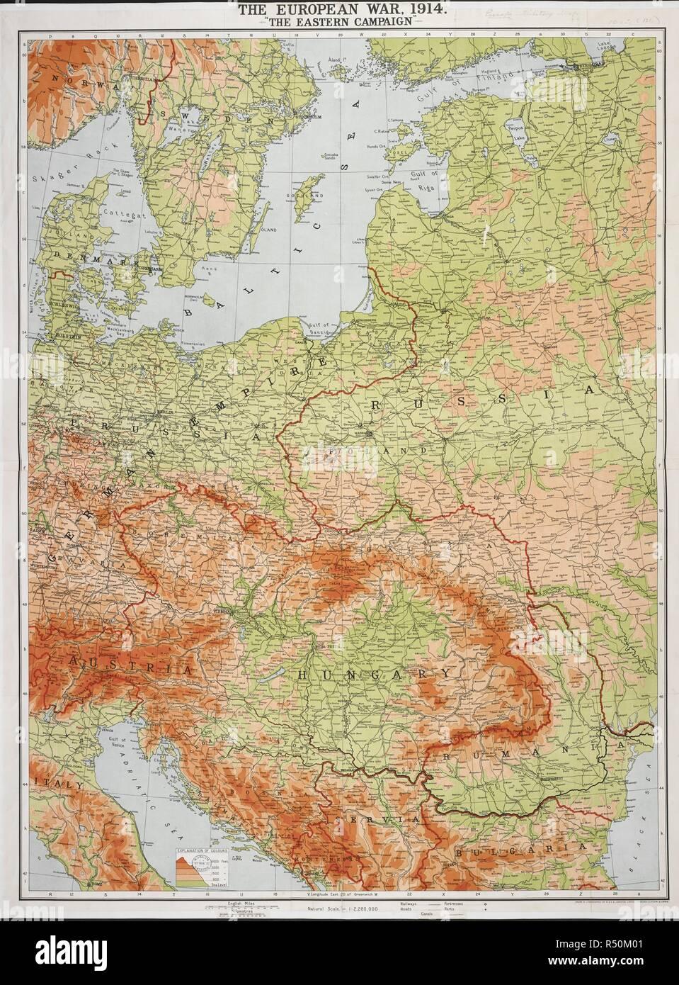 Karte Schweden Dänemark Deutschland.Eine Karte Des Ersten Weltkriegs übersicht Teil Von Norwegen Und