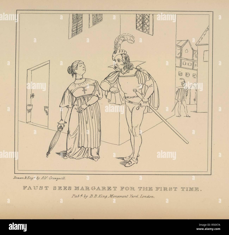 Faust Und Margarete Faust Ein Serio Komische Gedicht