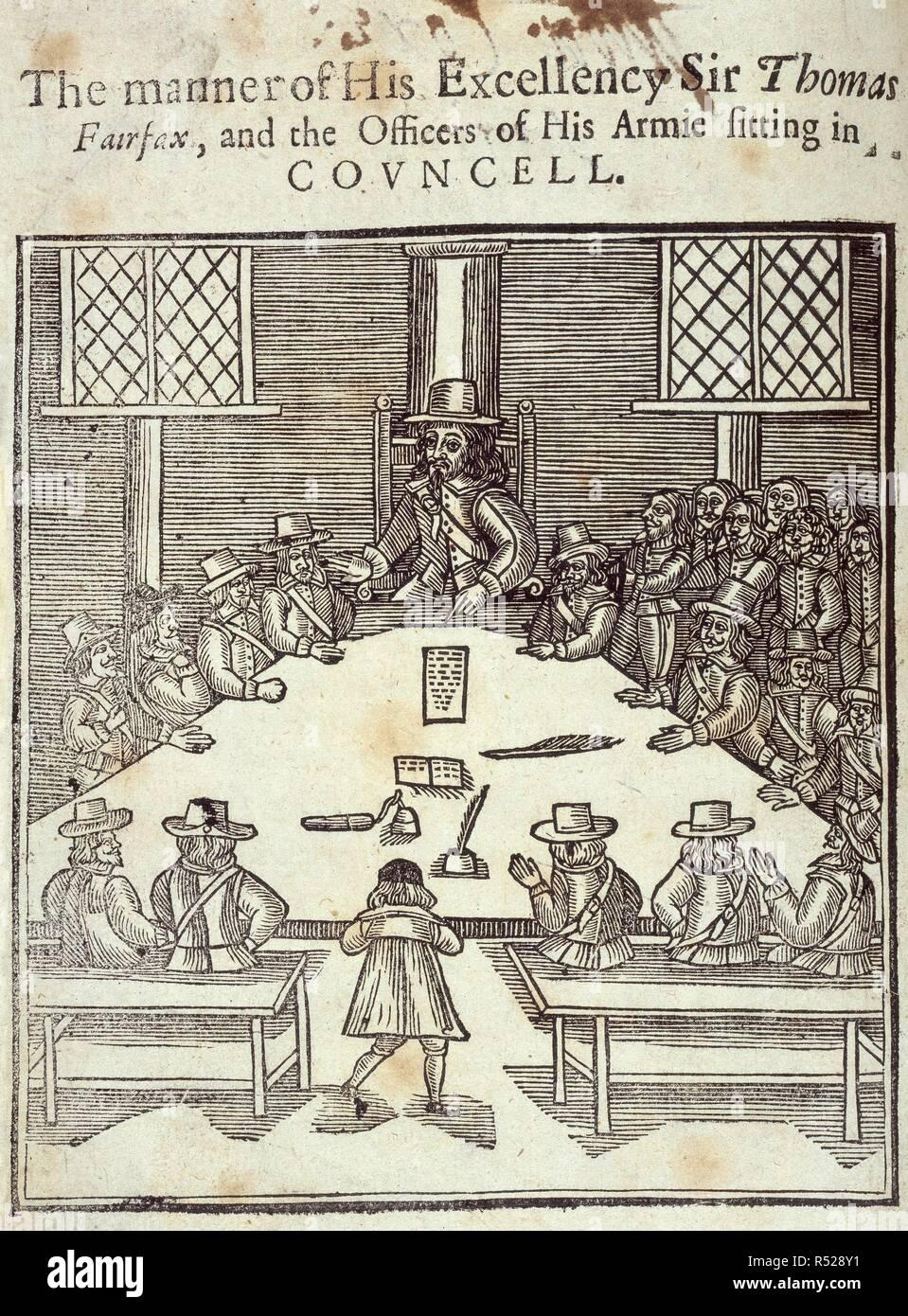 Sir Thomas Fairfax Eine Erklarung Der Verlobungen Remonstrances R