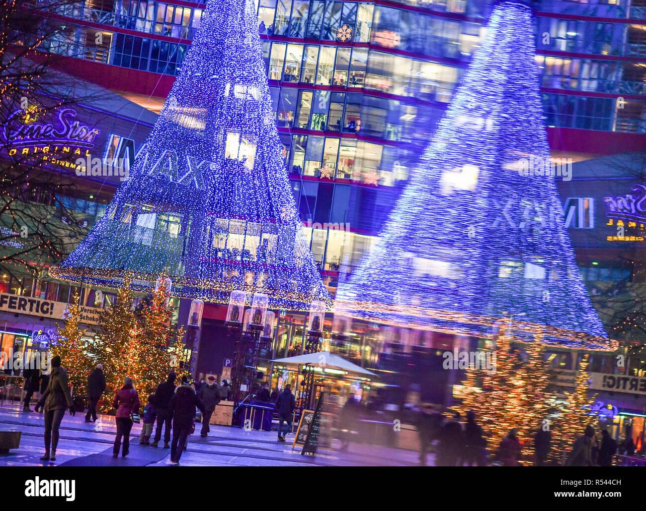 Weihnachten 2019 In Deutschland.Berlin Deutschland 29 Nov 2018 Die Beleuchtete