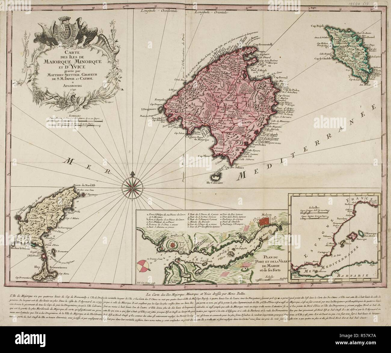 Ibiza Karte Umriss.Karte Von Mallorca Stockfotos Karte Von Mallorca Bilder Alamy