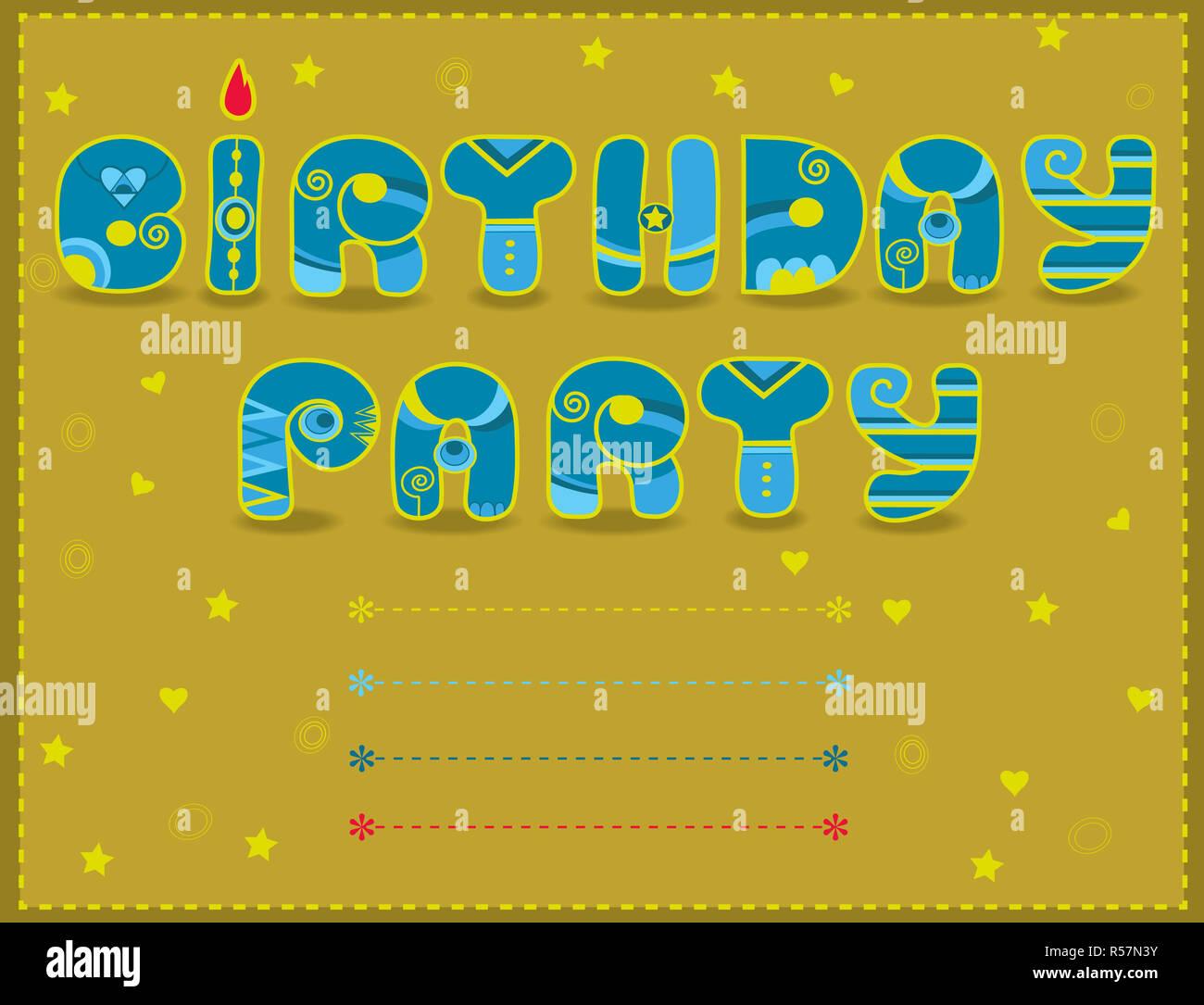 Lustige Einladung Zum Geburtstag Lll