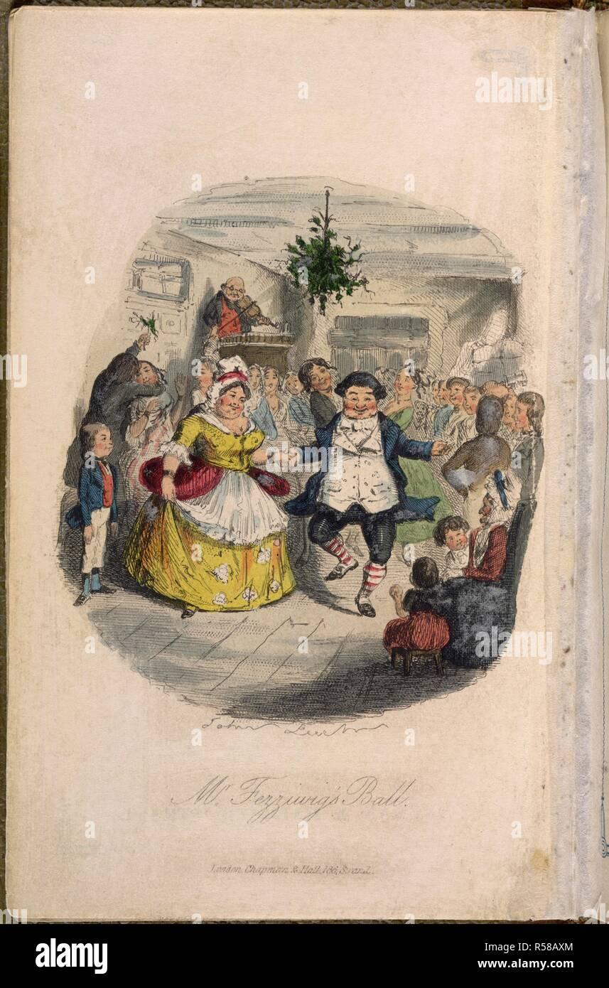 Weihnachtslieder Geschichte.Herr Fezziwig S Ball Ein Weihnachtslied In Prosa Wird Ein Geist