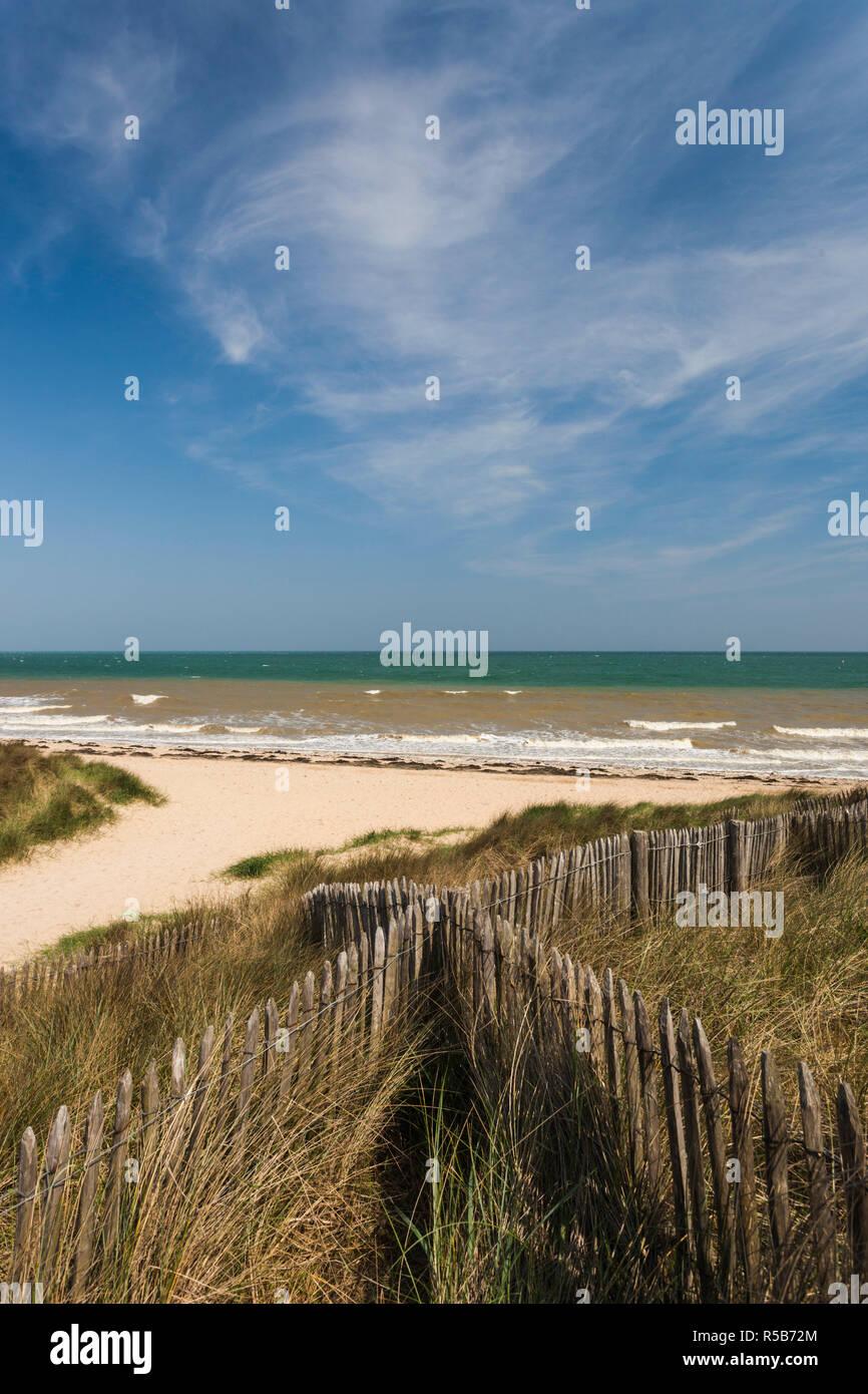 Frankreich Normandie Calvados Abteilung D Day Strände Gegend